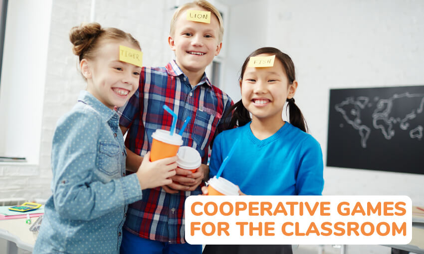 A collection of cooperative games for the classroom.