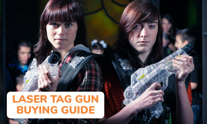 A laser tag gun buying guide.