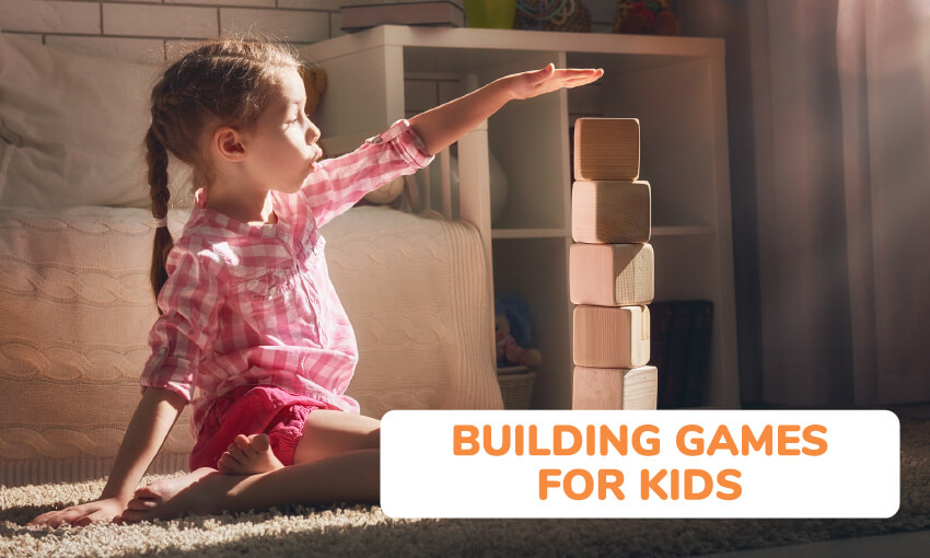 A collection of building games for kids.