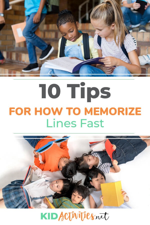 A collection of tips on how to memorize your lines fast. Great for an upcoming play or audition.