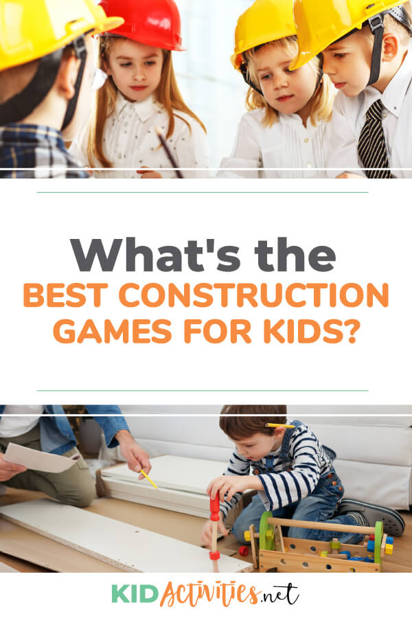 What's the best construction games and activities for kids? Here we have a list of 15 that are sure to deliver construction themed fun.