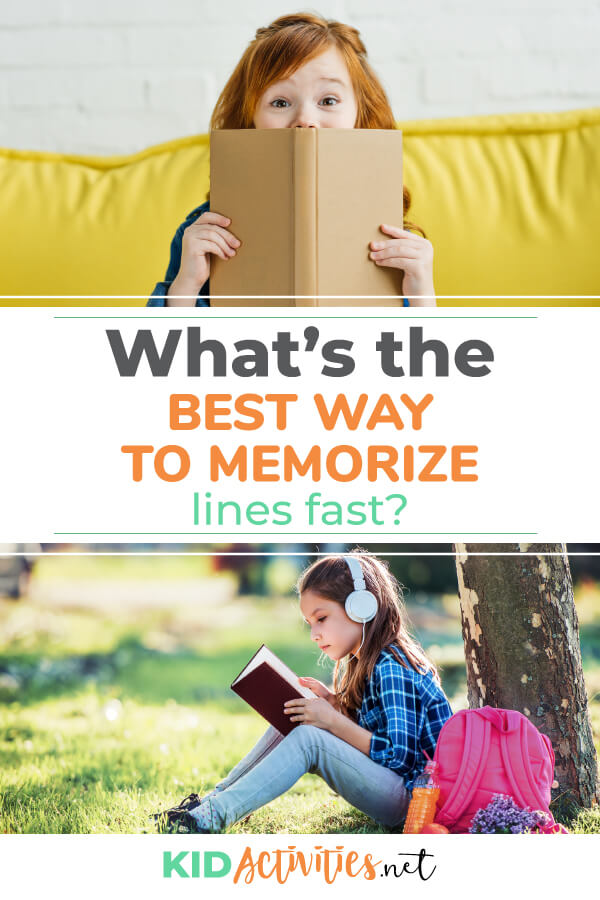 What's the best way to memorize lines fast? Here are 10 tips to help you with your audition or play.