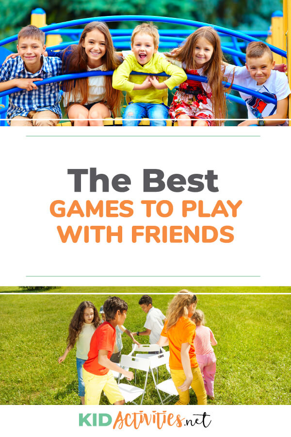 kids have for friends games