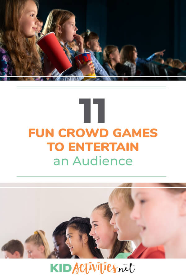 A collection of fun crowd games to entertain an audience. These can make for <a href=