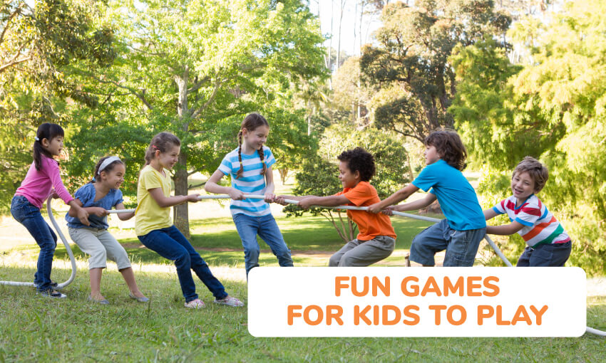 A collection of fun games for kids to play.