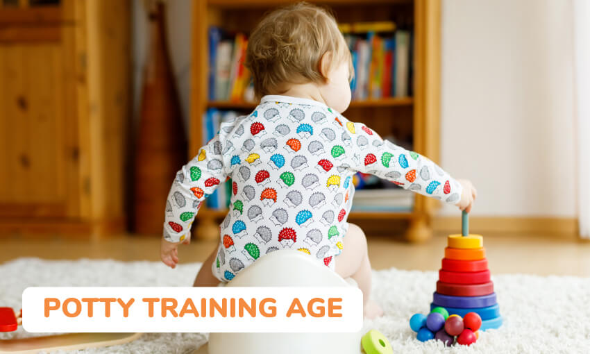 A discussion on the best age to potty train kids, specifically boys.
