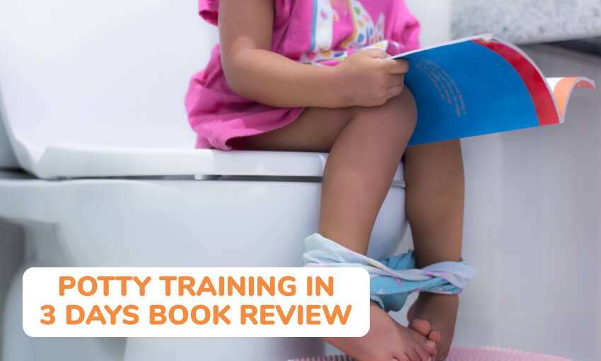 Book review for potty train in 3 days book.