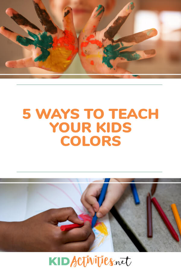 5 tips for helping teach your kids colors.