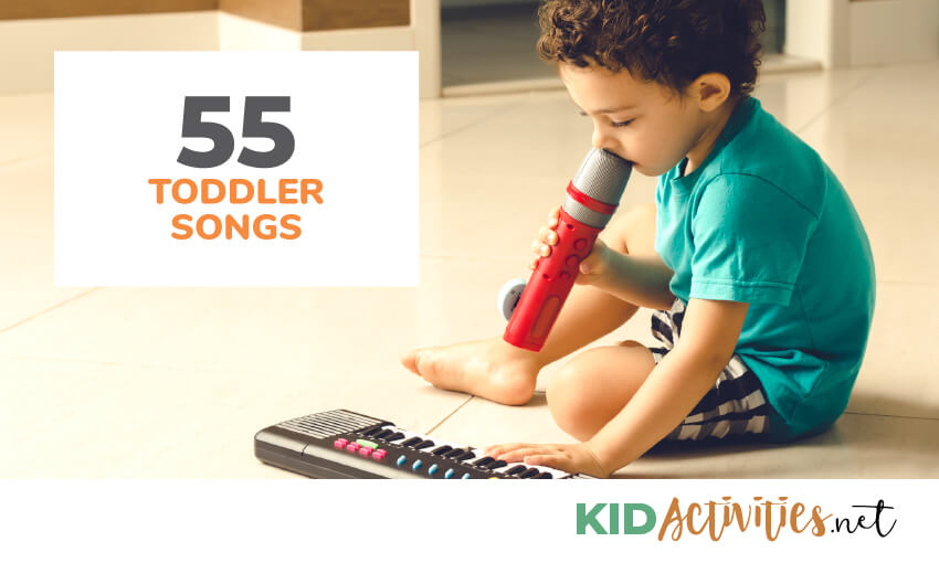 A collection of 55 toddler songs.