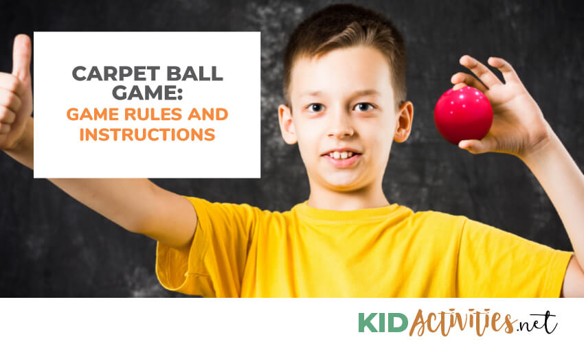 carpet ball game rules and instructions