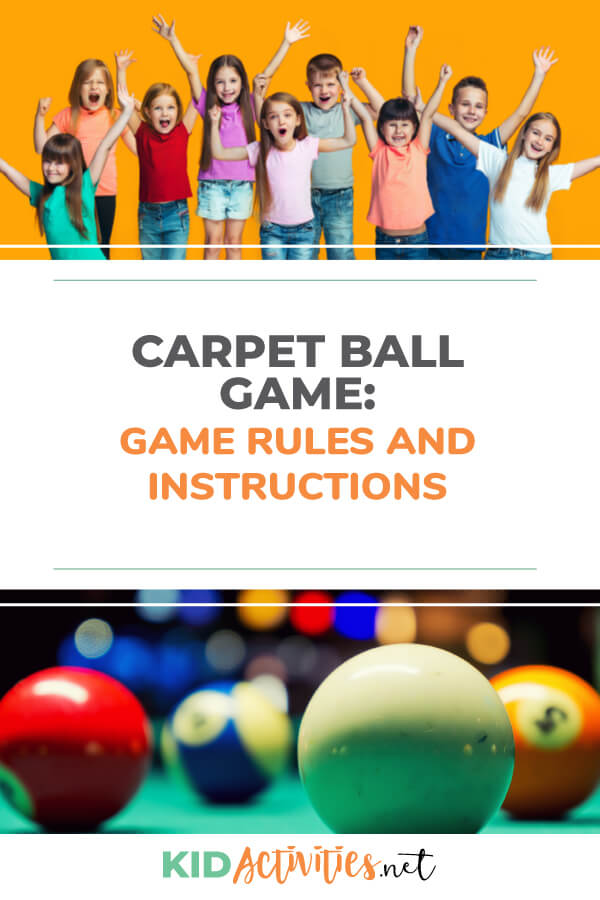 Instructions on how to play the game carpet ball. This is <a href=