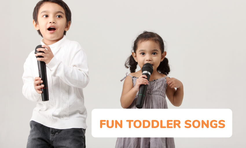 A collection of fun toddler songs.