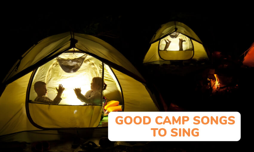 A collection of good camp songs to sing.