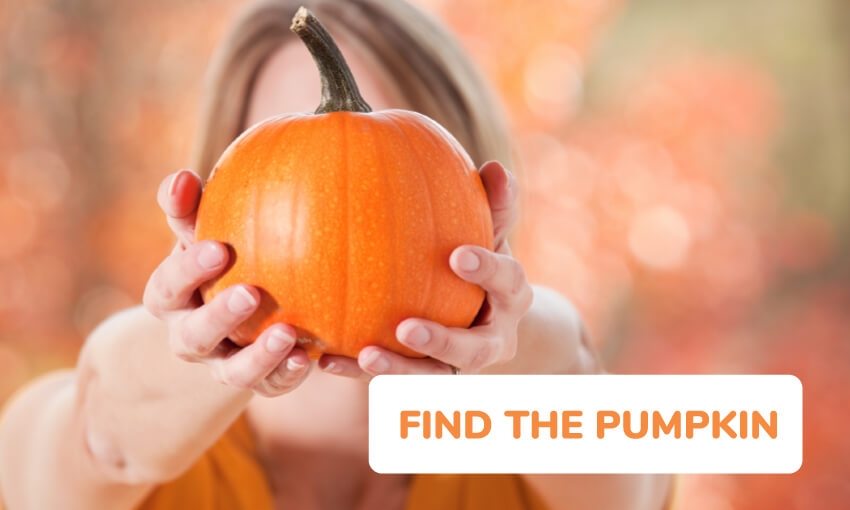 Find the pumpkin game.