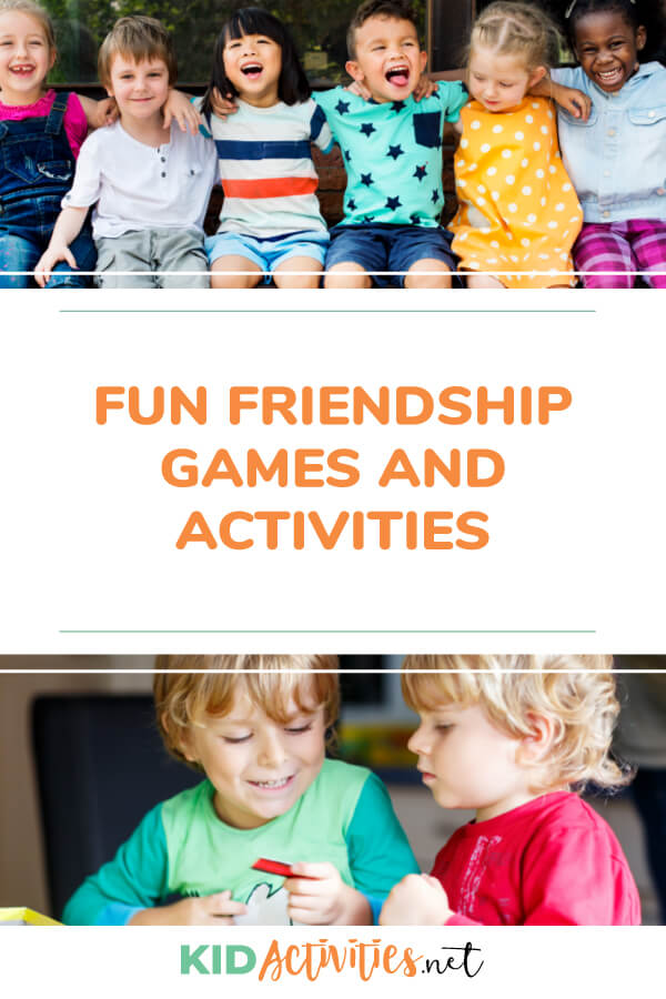 17 Friendship Activities for Preschoolers - Kid Activities