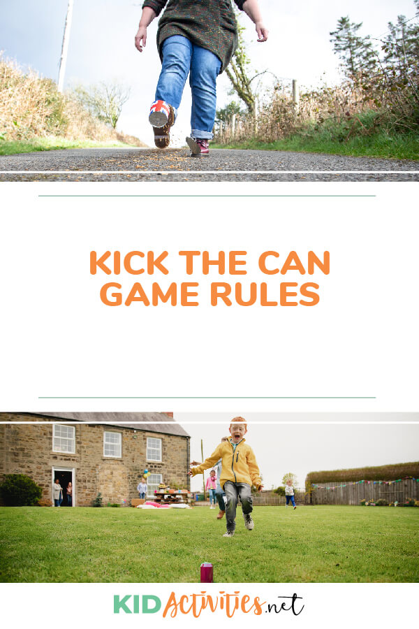 Learn the rules and instructions of the fun game kick the can.