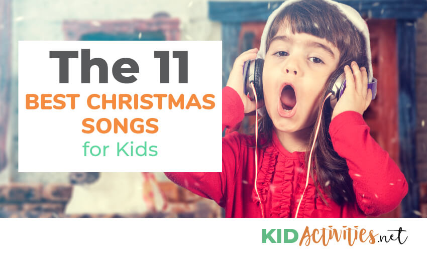 A collection of the best Christmas songs for kids