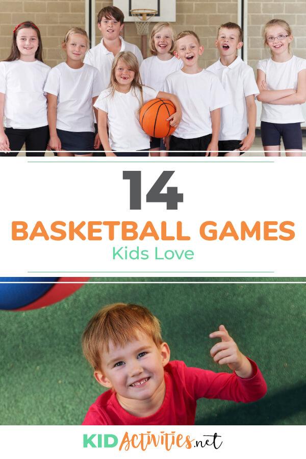 孩子们喜欢的趣味篮球亲子游戏。