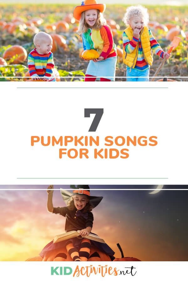 Pumpkin songs for kids.