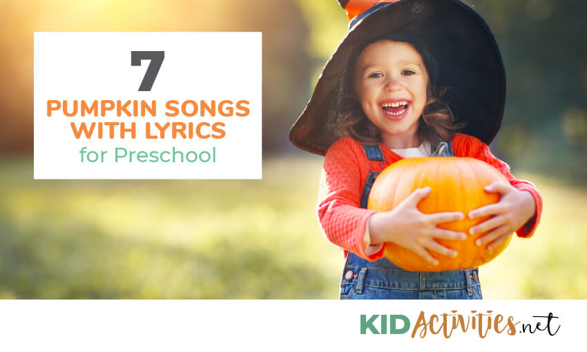 A collection of pumpkin songs with lyrics.