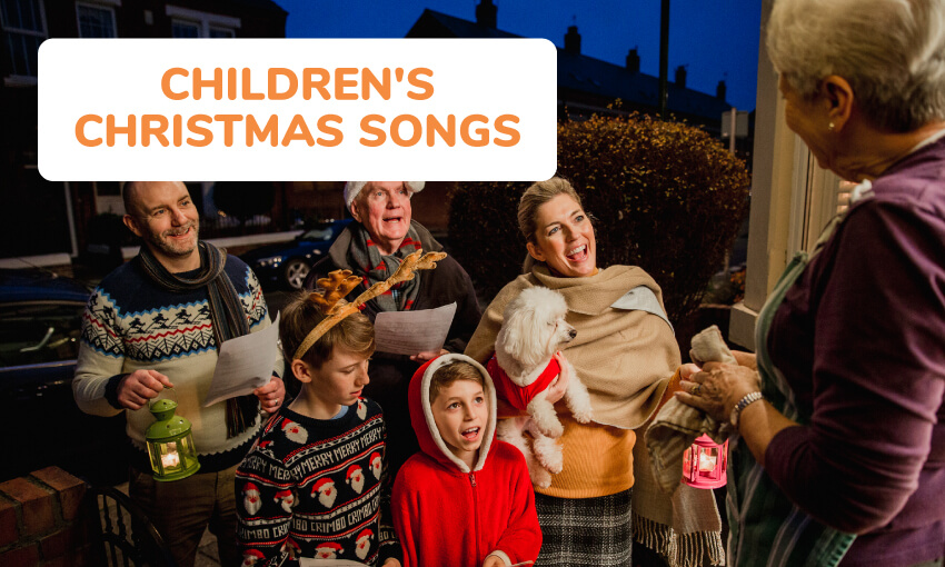 A collection of children's Christmas songs.