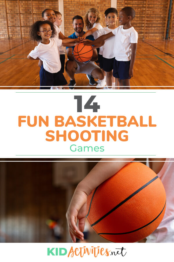 A collection of fun basketball shooting games for kids.