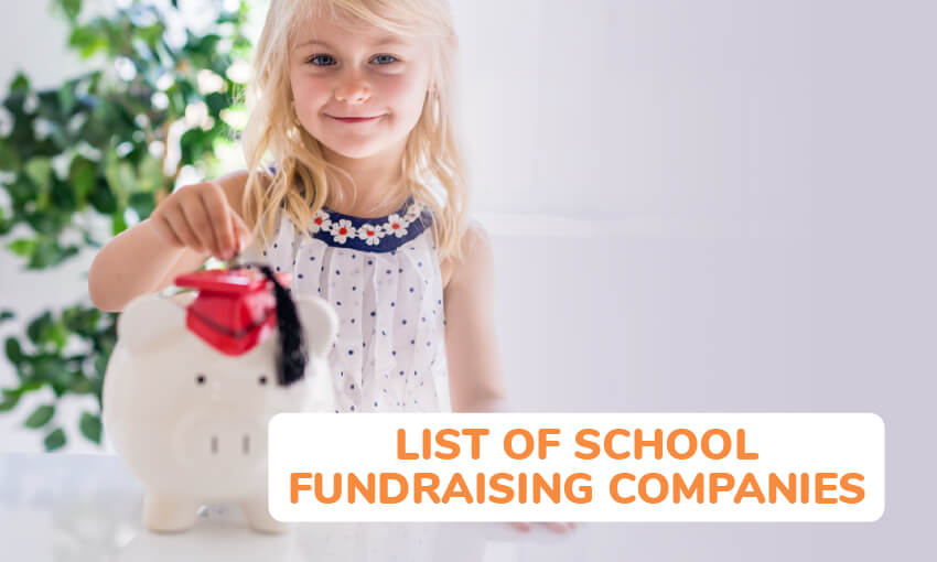 A list of school fundraising companies