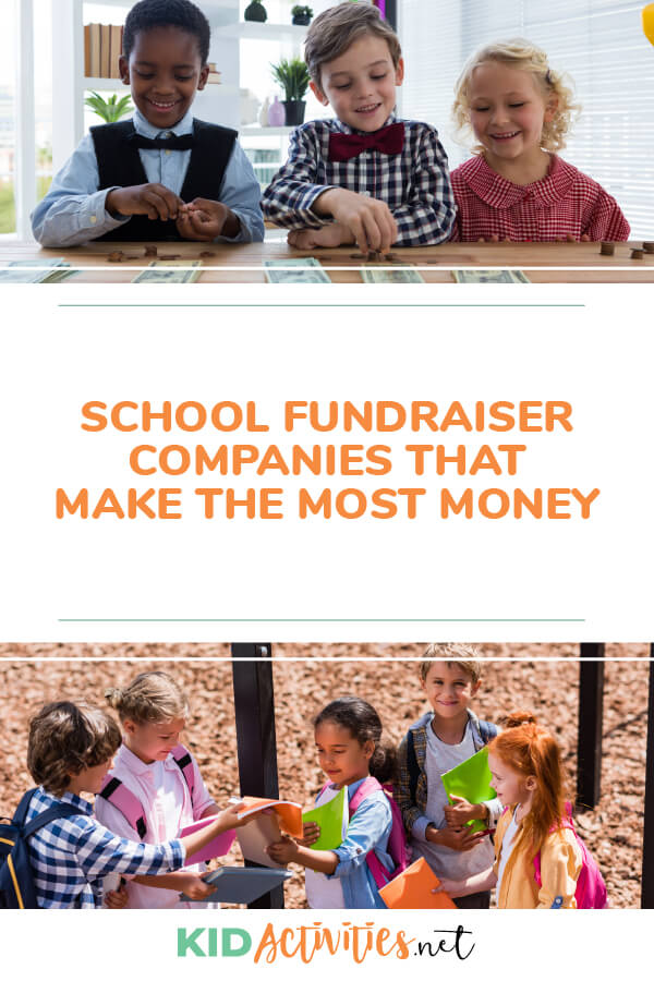 School fundraiser companies that make the most money