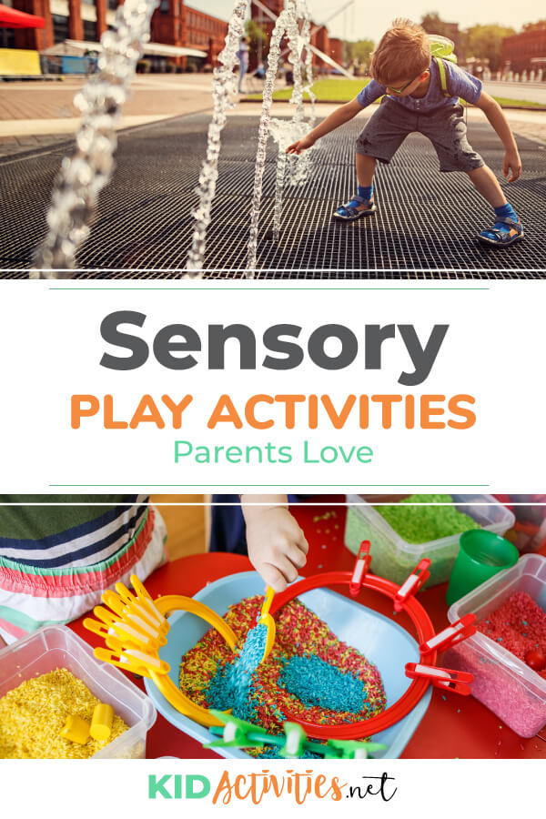 A collection of sensory play activities parents love.