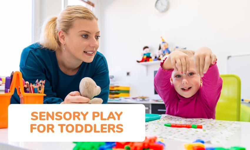 幼儿感官亲子游戏想法的集合。