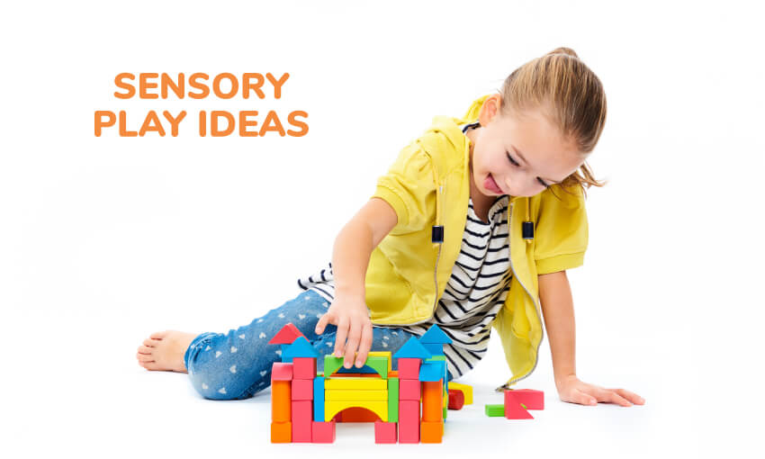 A collection of fun sensory play ideas.