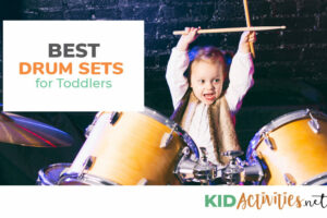 A collection of the best drum sets for toddlers.