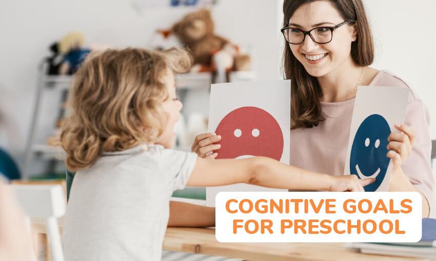 cognitive goals for preschoolers
