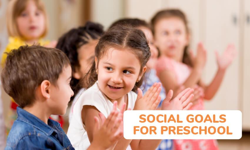social goals for preschoolers