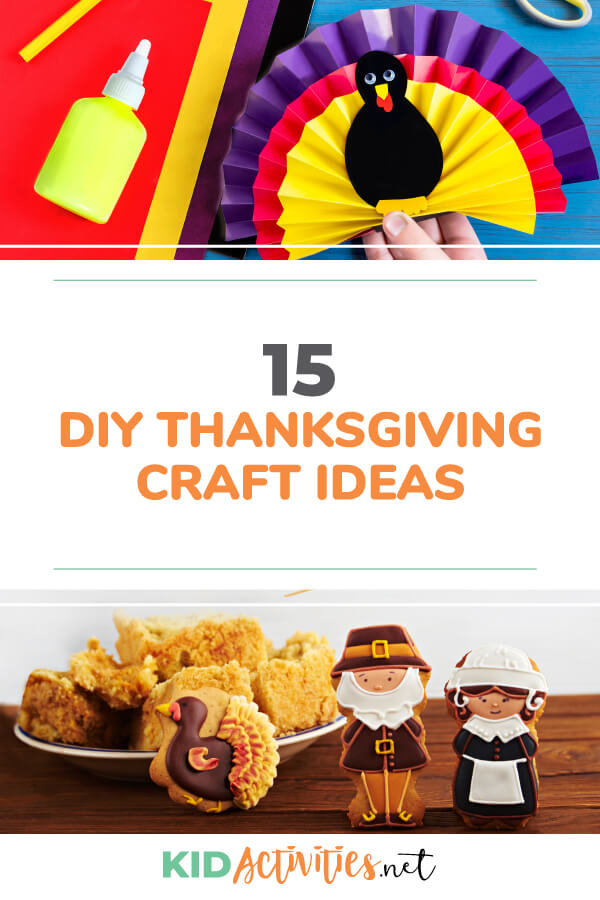 DIY Thanksgiving craft ideas for the classroom.