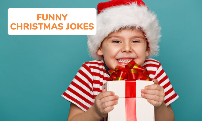 A collection of funny Christmas jokes.
