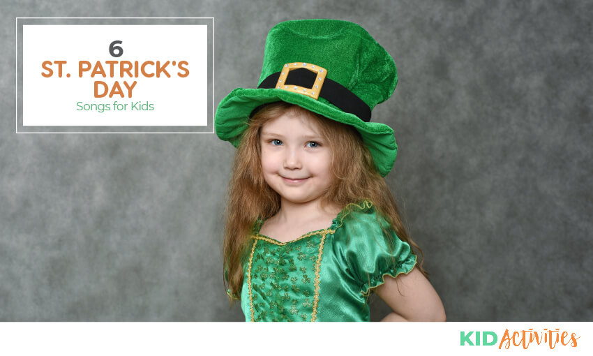 A collection of 6 St Patrick's Day songs for kids to sing.