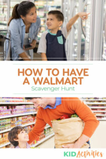 How to have a Walmart scavenger hunt.