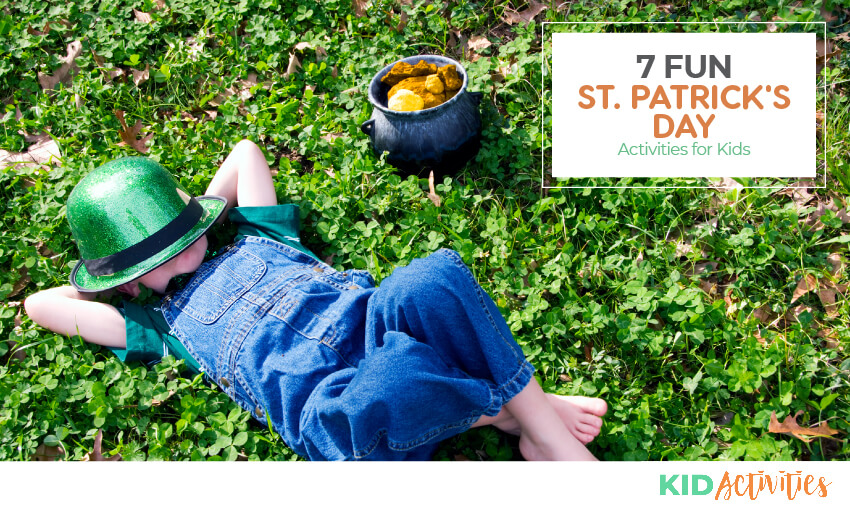 A collection of fun St Patrick's Day activities for kids.
