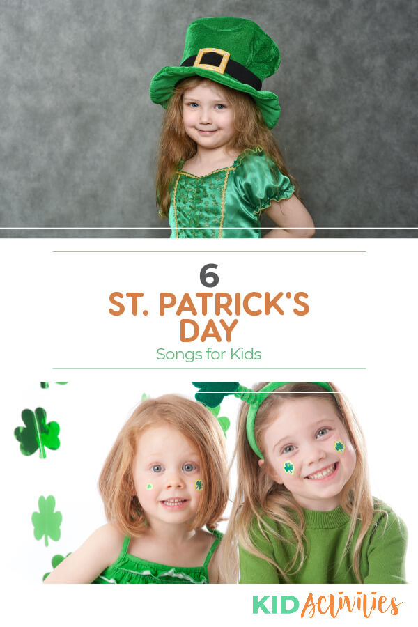 A collection of 6 St Patrick's Day songs for kids. Kids will love singing and dancing like little leprechauns to these Irish tunes.