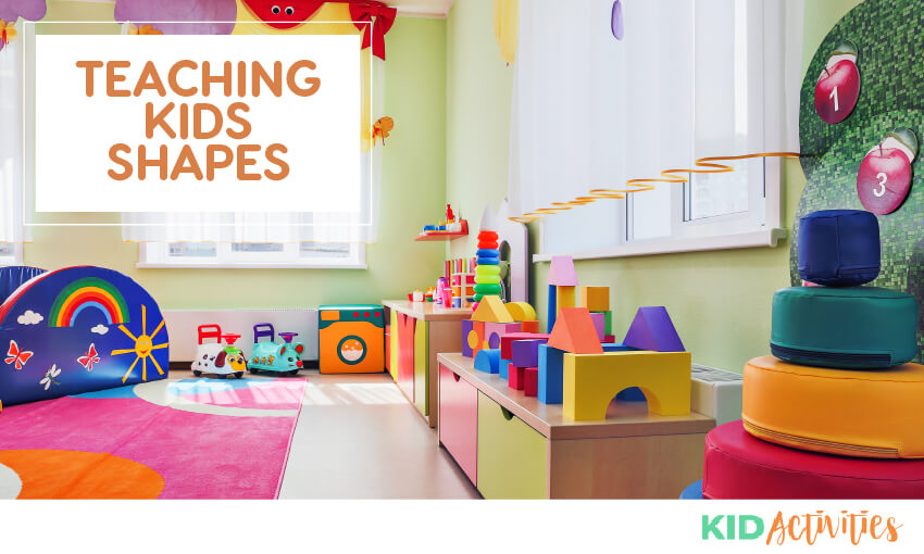 A discussion on teaching kids various shapes.