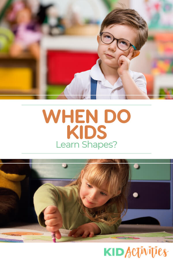 When do kids learn shapes? Here we discuss what ages to start learning the basic shapes as well as the more advanced shapes. Discover some ways to make learning shapes fun.