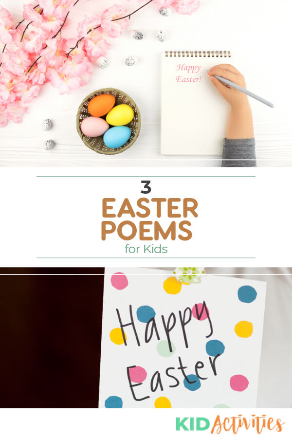 A collection of 3 Easter poems for kids. Great for incorporating into an Easter craft project or for making homemade Easter cards.
