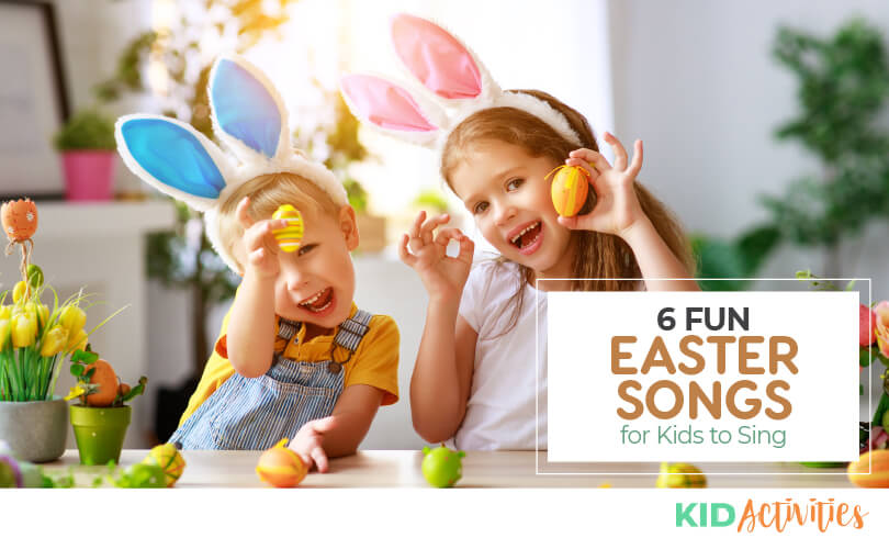 A collection of fun Easter songs for kids.