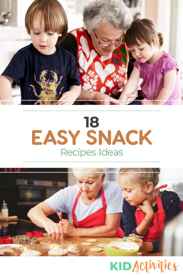 A collection of 18 easy snack mix recipe ideas.