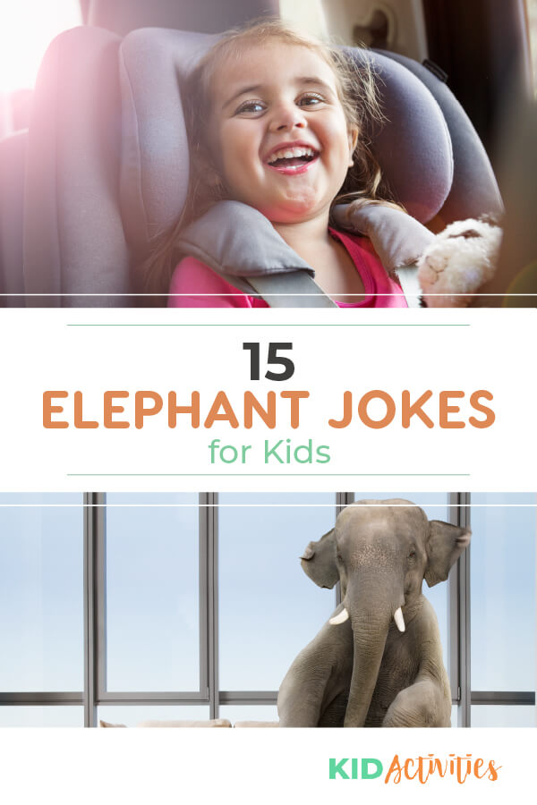A collection of 15 funny elephant jokes for kids.
