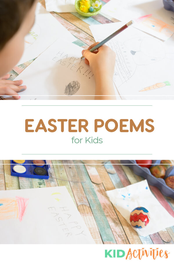 A collection of Easter poems for kids. Great for the classroom or at home rhyming fun.