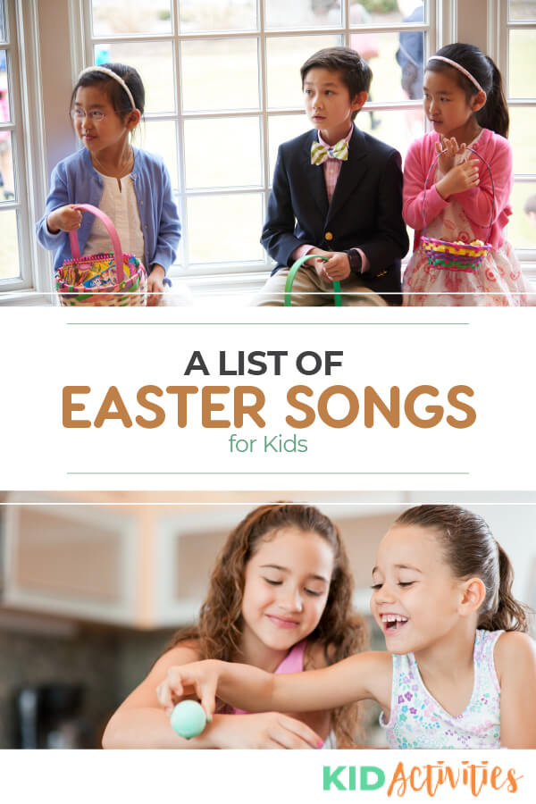 A list of Easter songs for kids. Here you will find music videos and lyrics to the songs.