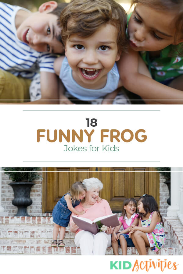 A collection of kid appropriate frog jokes. Great for a frog theme day in the classroom.
