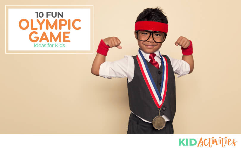 A collection of fun olympic games for kids.